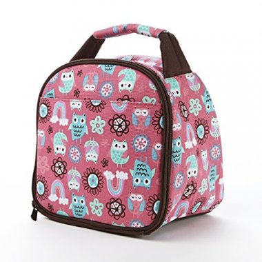 Gabby Insulated Lunch Bag Rainbow Owl