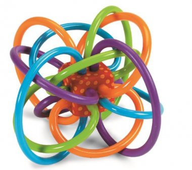 Manhattan Toy Winkel Rattle and Sensory & Teether Toy