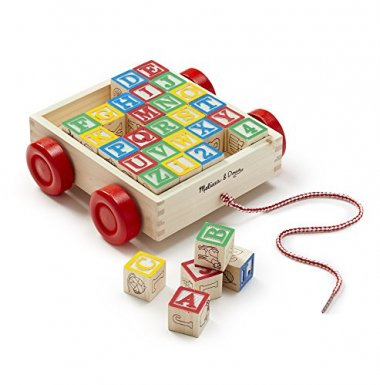 ABC Wooden Block Cart