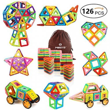 Mibote Magnetic Building Blocks