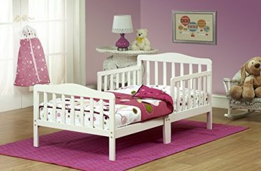 Orbelle Toddler Bed, 3-6T, French White