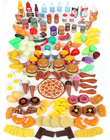 Play Food Set for Kids – Huge 202 Piece Set