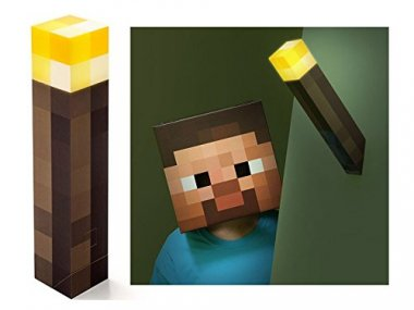 ThinkGeek Minecraft Light-Up Wall Torch