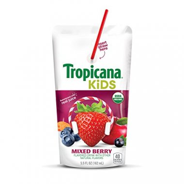 Organic Juice Drink Pouch Mixed Berry
