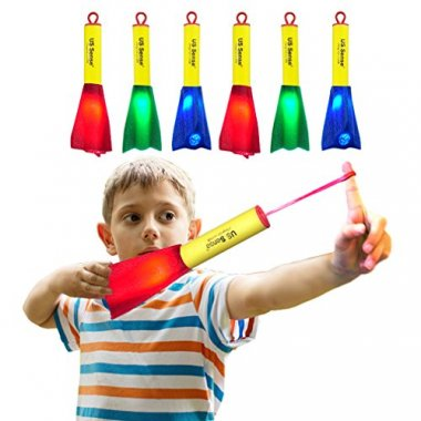 6 Pack LED Foam Finger Rockets