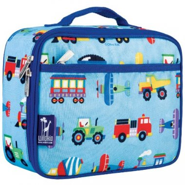 Trains Planes & Trucks Moisture Resistant Lunch Box