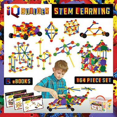 IQ BUILDER STEM Learning Toys | Creative Construction