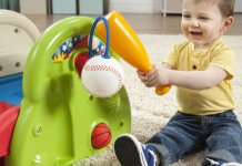 Top ten sports toys appropriate for toddlers