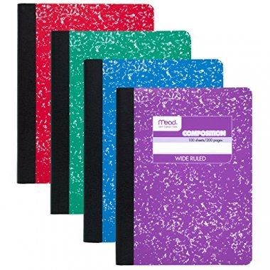 Mead Composition Books/Notebooks
