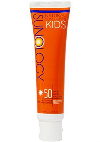 Sunology Kid's & Baby Safe Mineral Sunscreen SPF 50
