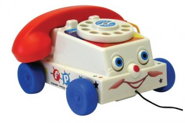 Basic Fun Fisher Price Classics Retro Chatter Phone