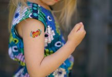 Check out some cool temporary tattoos for kids.