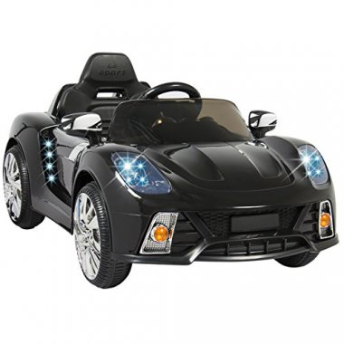 Electric RC Ride-On Car w/ LED Lights
