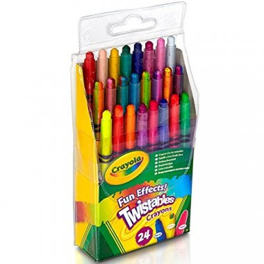 Crayola Fun Effects Mini Twistables Crayons