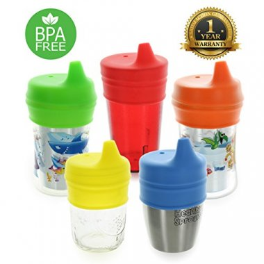 Healthy Sprouts Silicone Lids 5-Pack