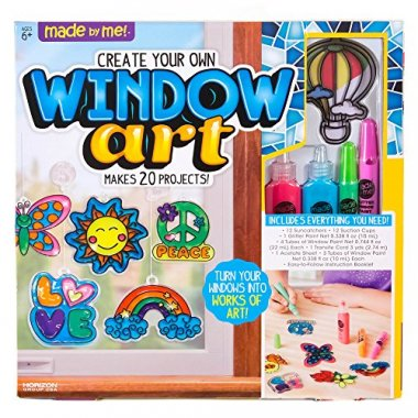 Made By Me Create Your Own Window Art, Assorted Colors