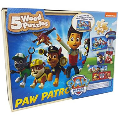 5 Paw Patrol with Storage Box