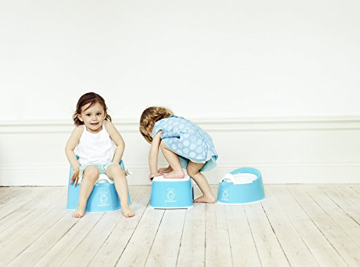 Kids love the BabyBjorn Potty Chair