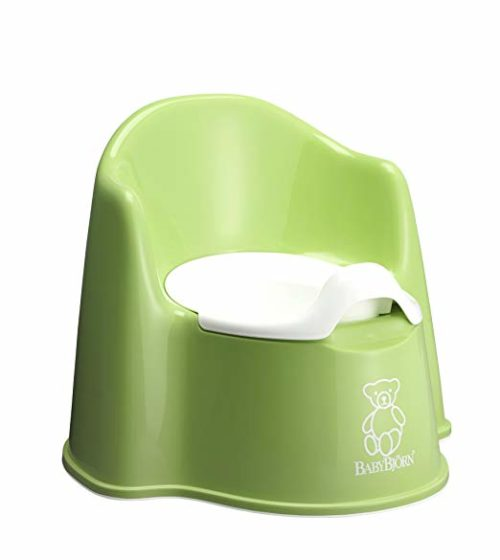 BabyBjorn Potty Chair Green