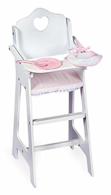 Badger Basket White High Chair