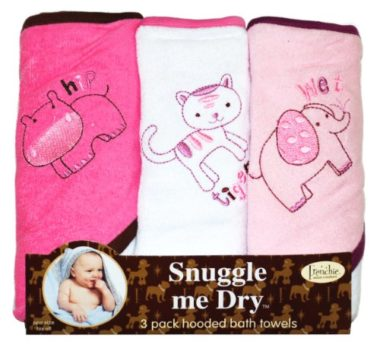 Baby Bath towels 6 pack