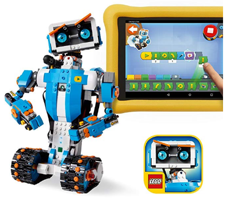 Teach your kids different coding skills with the LEGO Boost Toolbox.