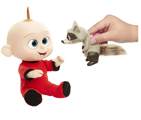 The Incredibles 2 Jack-Jack Plush-Figure is recommended for kids ages 3 and up.