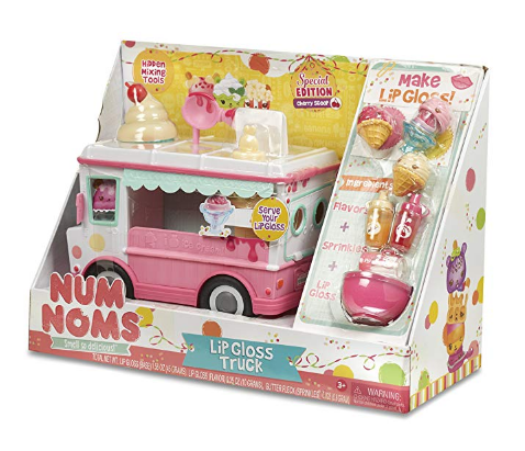 Num Noms Lipgloss Truck Craft Kit box