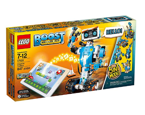 The LEGO Boost Toolbox is an award-winning toy.