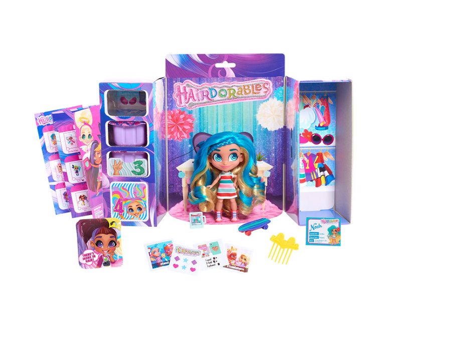 There are 36 different Hairdorables Collectible Surprise Dolls.