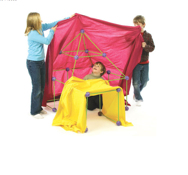 Crazy Forts can easily turn into a tent.