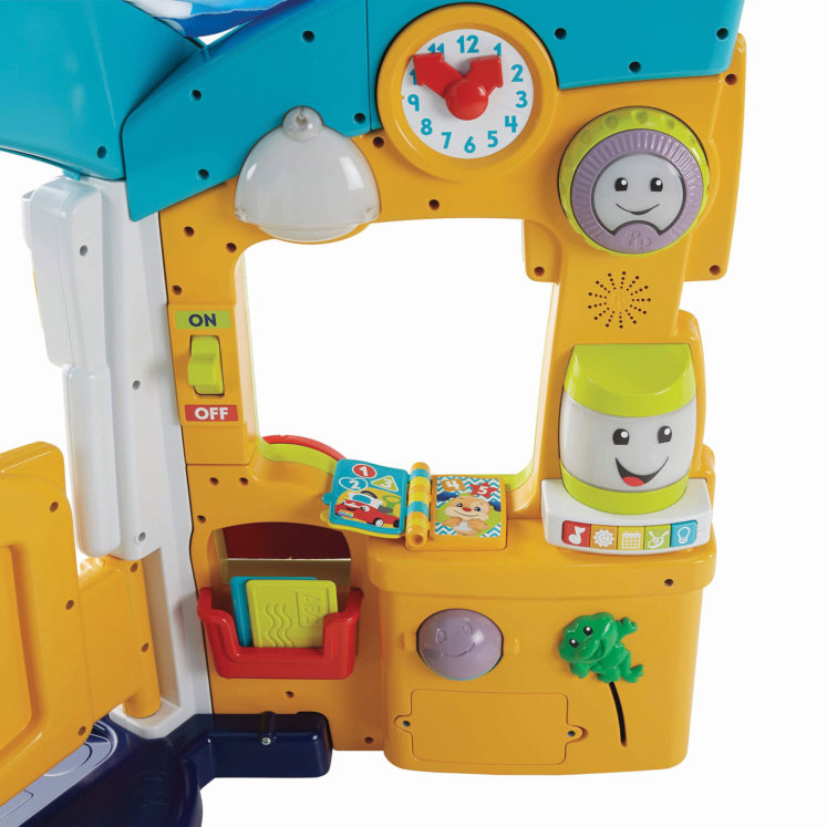 Fisher Price Laugh and Learn Smart Learning Home details