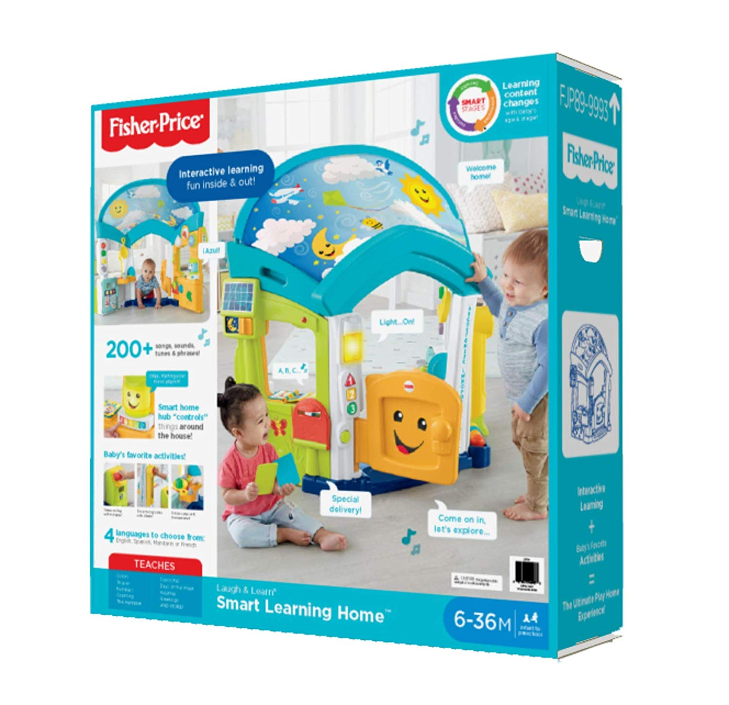 Fisher Price Laugh and Learn Smart Learning Home box