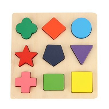GYBBER&MUMU Wooden Preschool Shape