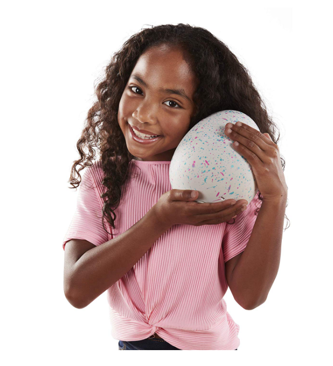 Hatchimals HatchiBabies include fun accessories.