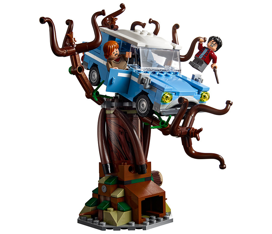 Lego Harry Potter Hogwarts Whomping Willow Building Set assembled