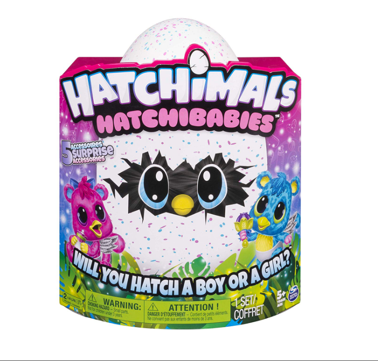 Hatchimals HatchiBabies are plush toys.