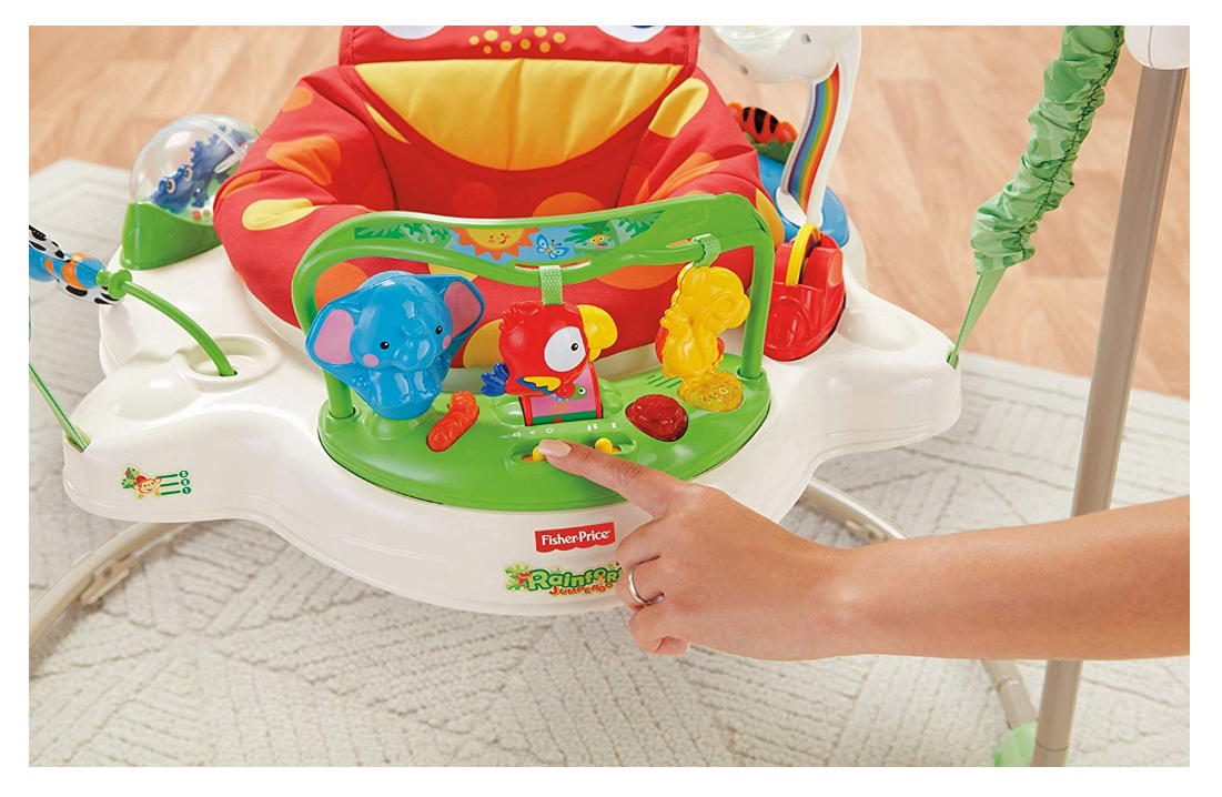 Fisher-Price Rainforest Jumperoo Settings