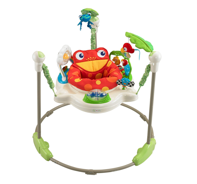 Fisher-Price Rainforest Jumperoo Assembled