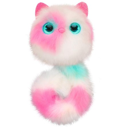 The Pomsies Patches Plush Interactive Toy can communicate how they feel.