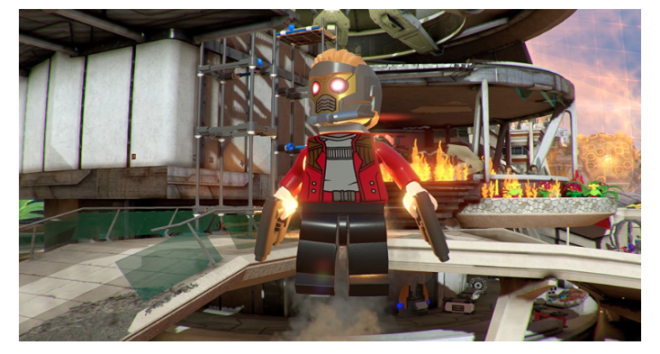 The Lego Marvel Superheroes 2 PlayStation 4 features different battle arenas.