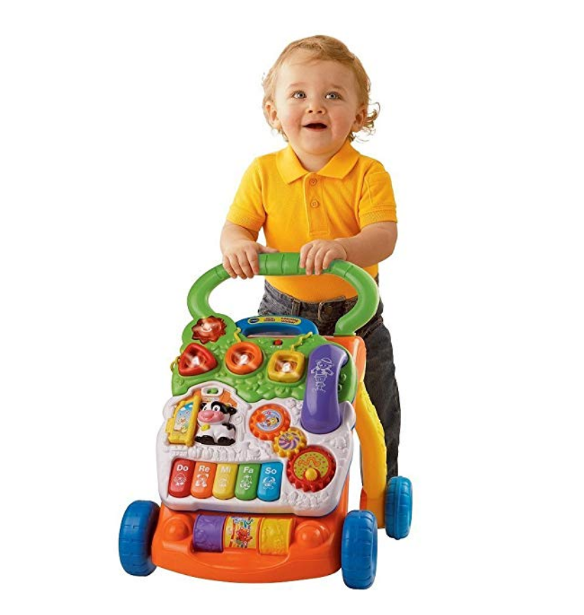 VTech Sit-to-Stand Learning Walker toddler
