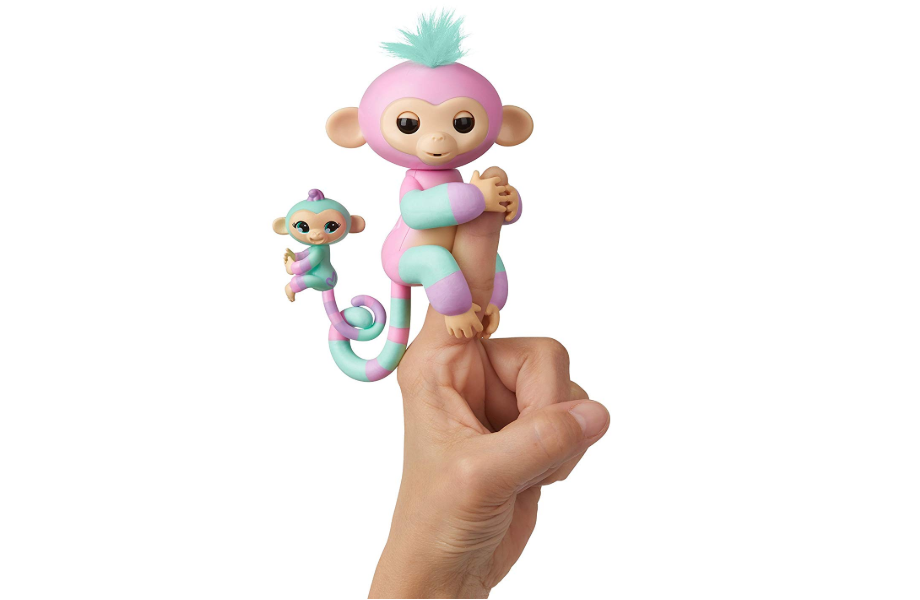 WowWee Fingerlings Baby Monkey Ashley & Chance