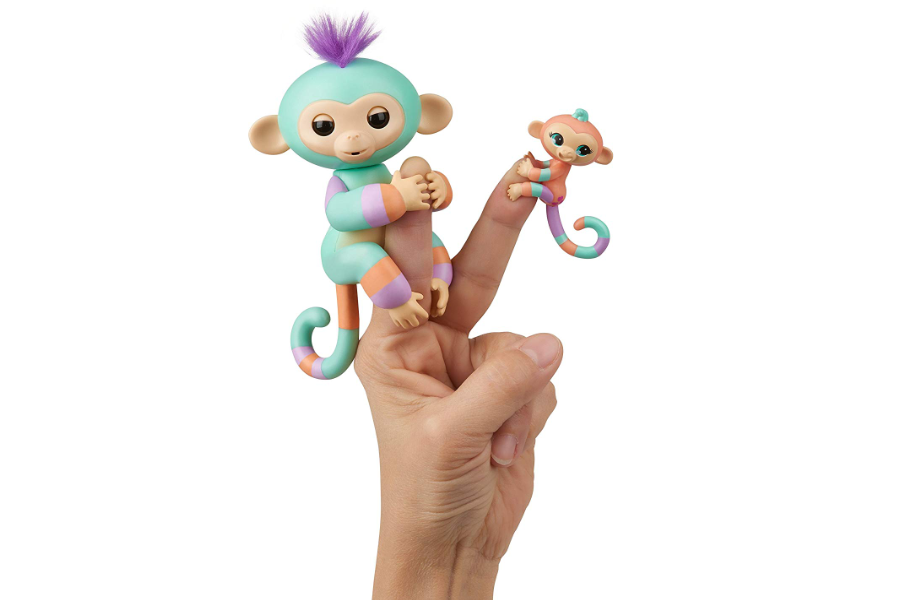 WowWee Fingerlings Baby Monkey Danny & Gianna