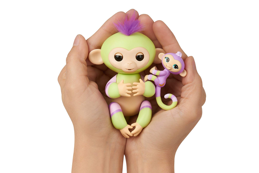 WowWee Fingerlings Baby Monkey Jess & Eden