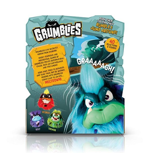 The Grumblies Hydro features 40 reactions.