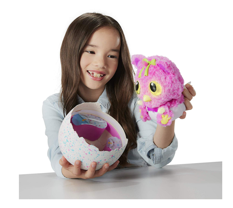 Hatchimals HatchiBabies come from an egg.