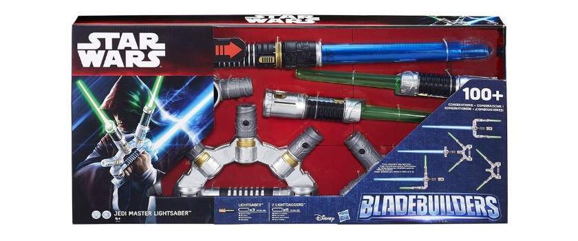 Star Wars Bladebuilders Jedi Master Lightsaber in box