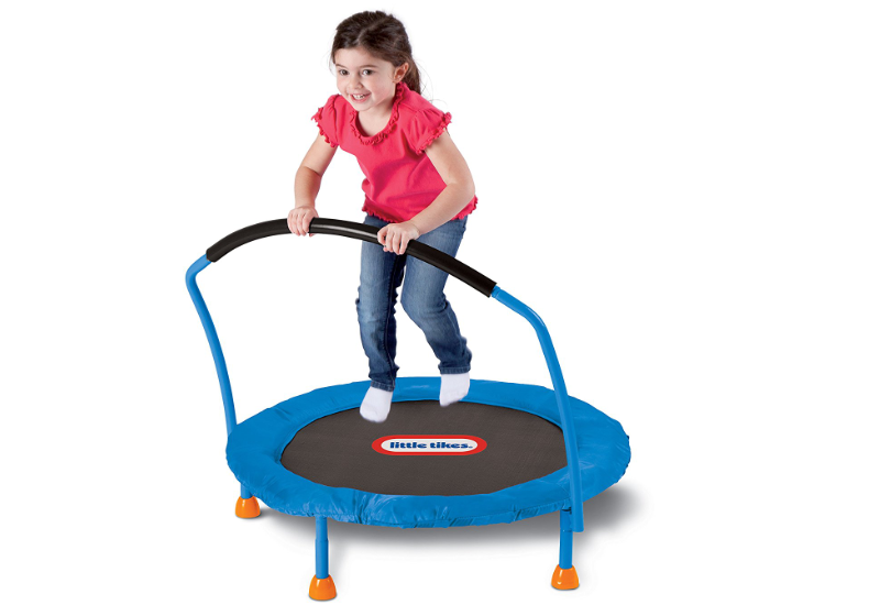 Little Tikes Trampoline play