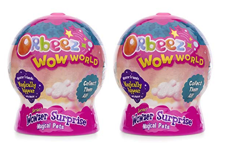 Orbeez Wow World Wowzer Surprise Magical Pets pack of 2.